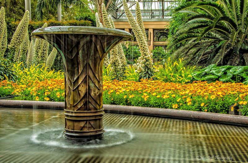 Fountain<br /> Longwood Gardens <br /> Kennett Square, Pennsylvania