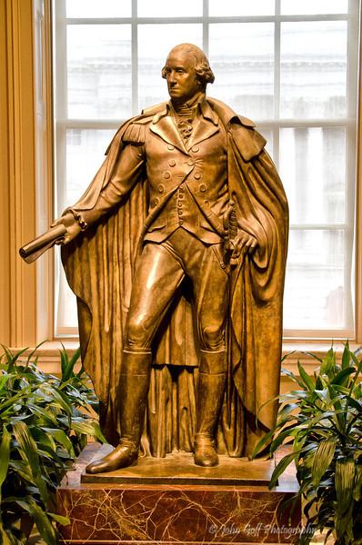 Bronze George Washington<br /> Smithsonian National Portrait Gallery<br /> Washington D.C.