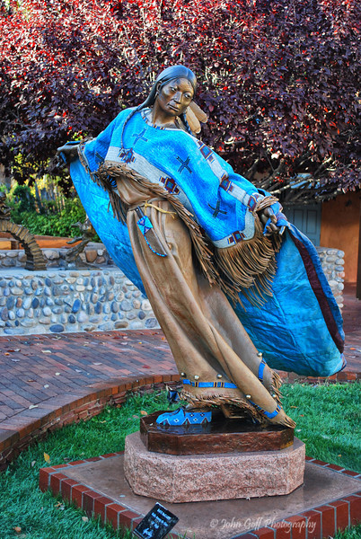 Walks Among The Stars <br /> Sculpture by Dave McGary<br /> Albuquerque, New Mexico