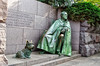 Fala and FDR<br /> Franklin Roosevelt Memorial<br /> Washington D.C.