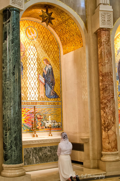 Praying<br /> Basilica of the National Shrine of the Immaculate Conception<br /> Washington D.C.