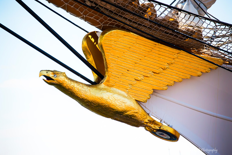 "The Eagle<br /> Star Spangled 200<br /> Inner Harbor, Baltimore, Maryland<br /> Bicentennial of Francis Scott Key's writing of ""The Star-Spangled Banner"""