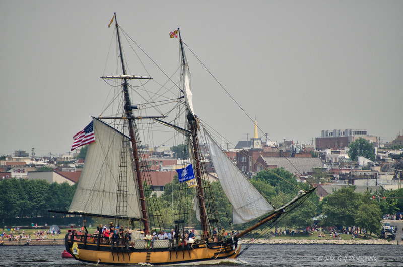 The Last Ship to Leave Baltimore<br /> Star Spangled Sailabration Fort  McHenry National Monument