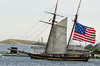 Pride of Baltimore, USA<br /> 1812-era topsail schooner privateer<br /> Star Spangled Sailabration Fort  McHenry National Monument