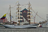Cuauhtemoc Leaving Baltimore<br /> Mexico Navy<br /> Star Spangled Sailabration Fort McHenry National Monument