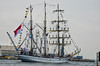 Dewaruci of the Indonesian Navy Leaving Baltimore<br /> Star Spangled Sailabration Fort  McHenry National Monument
