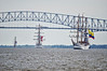 Three Tall Ships<br /> Star Spangled Sailabration Fort  McHenry National Monument
