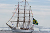 NVE CISNE BRANCO Salute<br /> Brazilian Navy<br /> Star Spangled Sailabration Fort  McHenry National Monument