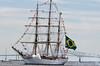 NVE CISNE BRANCO Salute<br /> Brazilian Navy<br /> Star Spangled Sailabration Fort  McHenry National Monument