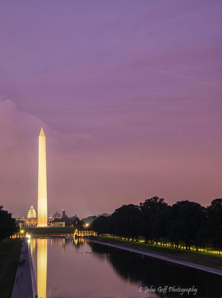 Shining Bright<br /> Washington DC Monuments