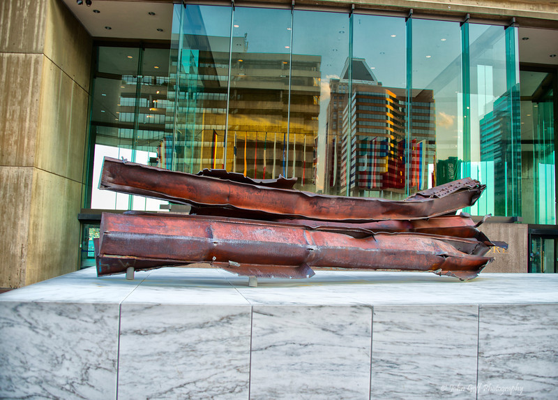 A Piece of 911<br /> Baltimore Inner Harbor <br /> Maryland