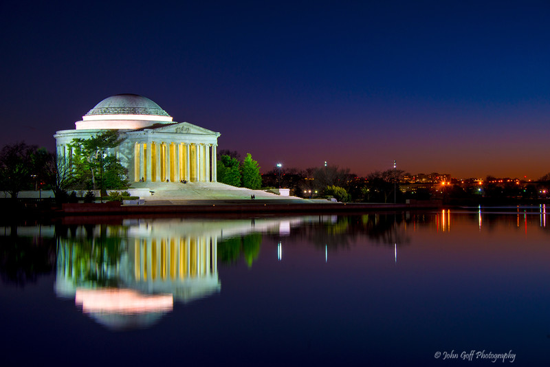 Jefferson Reflection<br /> Washington DC Monuments