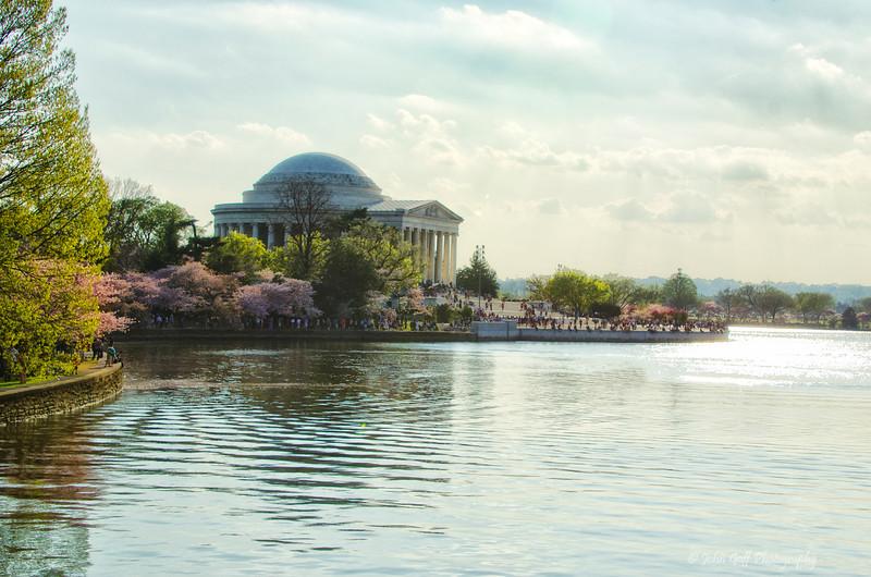 Basin Overlook<br /> 2012 Cherry Blossom Festival, Jefferson Monment<br /> Washington D.C.