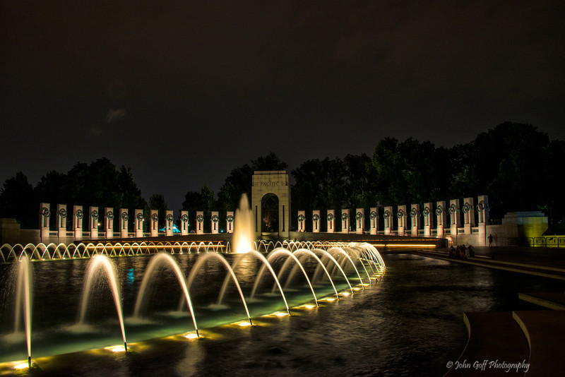 Late One night<br /> Washington DC Monuments