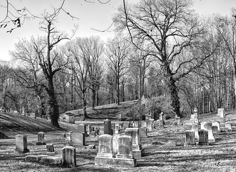 Quiet Neighbors<br /> Loudon Park Cemetery <br /> Baltimore, Maryland