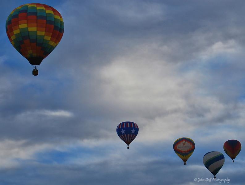 Stars<br />  <br /> Albuquerque International Balloon Fiesta <br /> Albuquerque, New Mexico