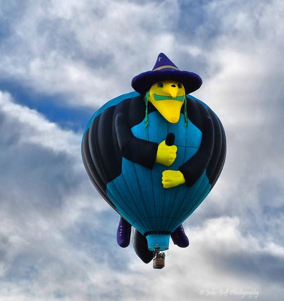 Witch<br />  <br /> Albuquerque International Balloon Fiesta <br /> Albuquerque, New Mexico
