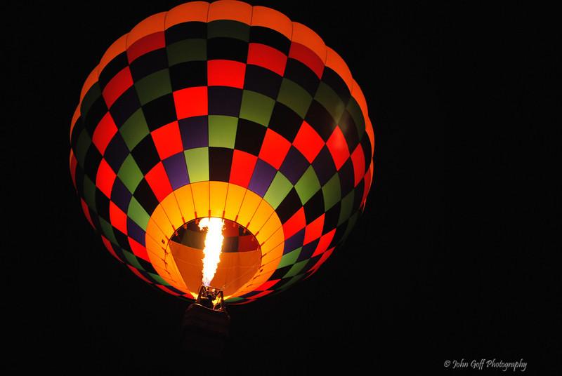 Ball of Fire<br />  <br /> Albuquerque International Balloon Fiesta <br /> Albuquerque, New Mexico
