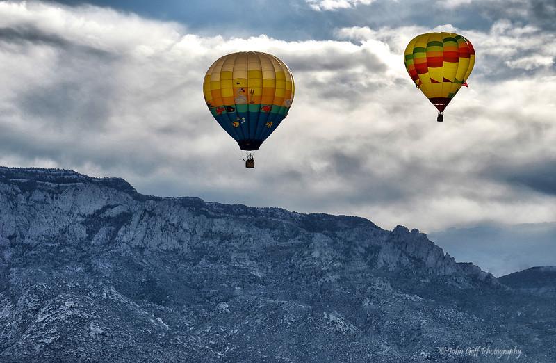Before the Mountain<br />  <br /> Albuquerque International Balloon Fiesta <br /> Albuquerque, New Mexico