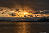 Behind Clouds<br /> <br /> Annapolis City Dock Sunrise<br /> Annapolis, Maryland