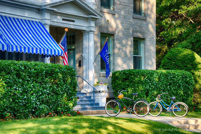 Two Bikes Alone<br /> Naval Academy