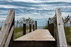 Walking Over Sand<br /> Bald Head Island, North Carolina