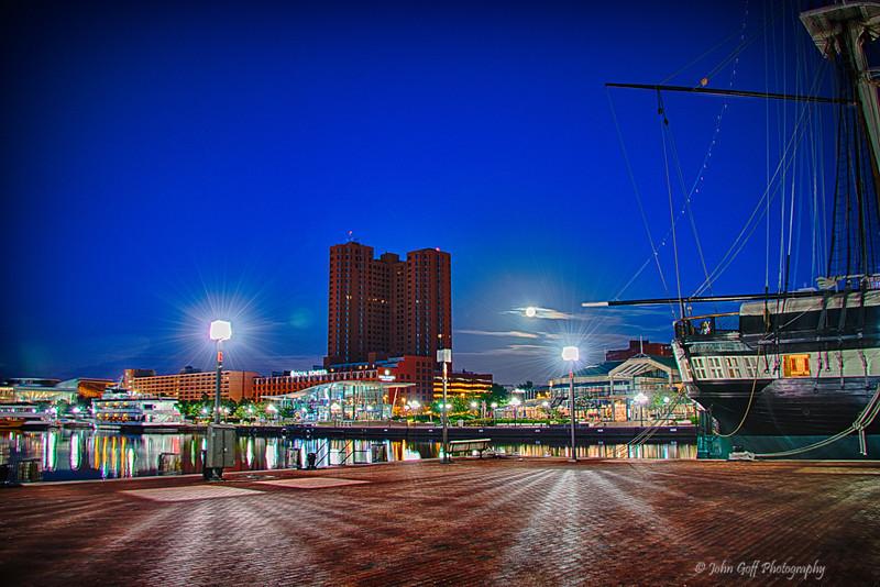 Across The Harbor<br /> Baltimore Inner Harbor, Maryland