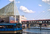 City Bridge<br /> Baltimore Inner Harbor<br /> Maryland