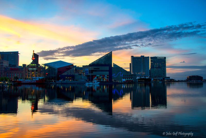 Sun Up<br /> Baltimore Inner Harbor