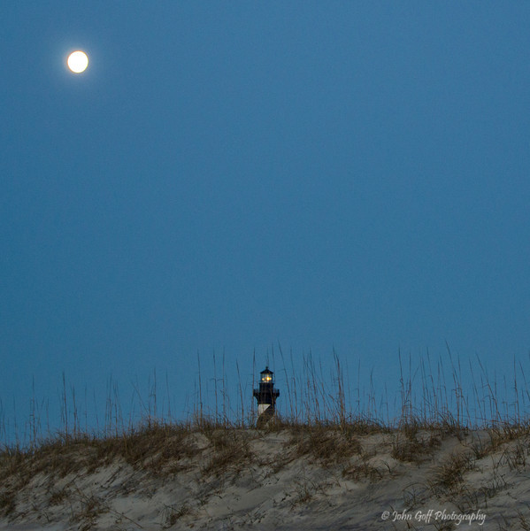 Full Moon<br /> Cape Hatteras, North Carolina