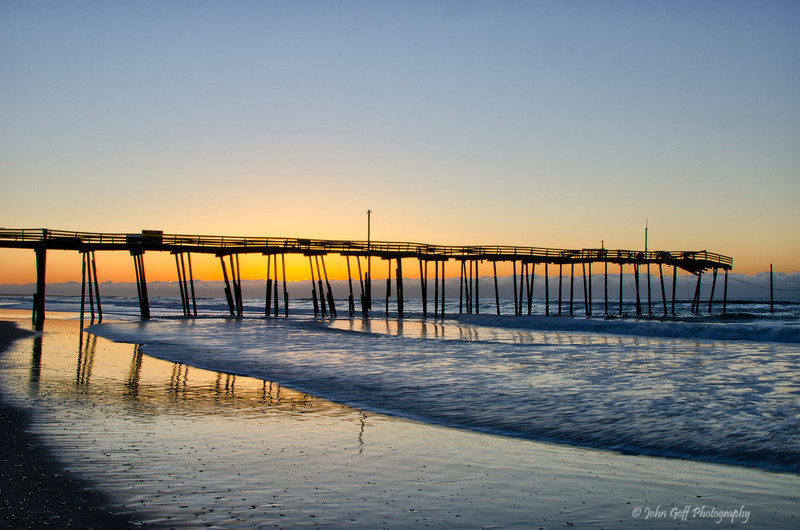 Sunset at the Pier<br /> Cape Hatteras, North Carolina