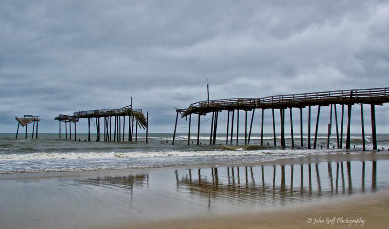 Broken Pier<br /> Cape Hatteras, North Carolina