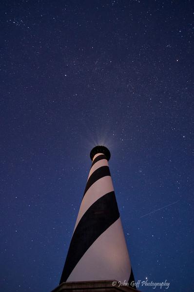 Stars and Blue Sky<br /> Cape Hatteras, North Carolina