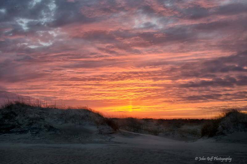 Beach Sunset<br /> Cape Hatteras, North Carolina