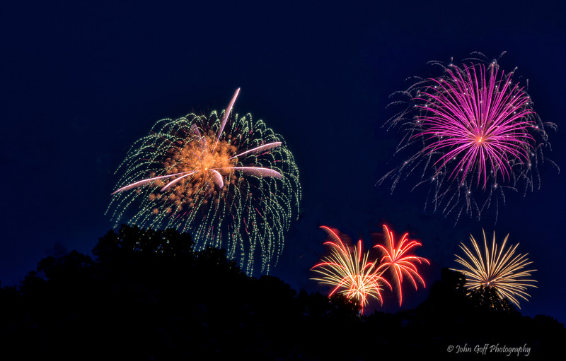 Five at Once<br /> Annapolis July 4th 2014 Fireworks