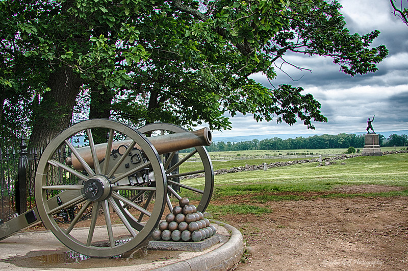 In The Distance<br /> Gettysburg National Military Park