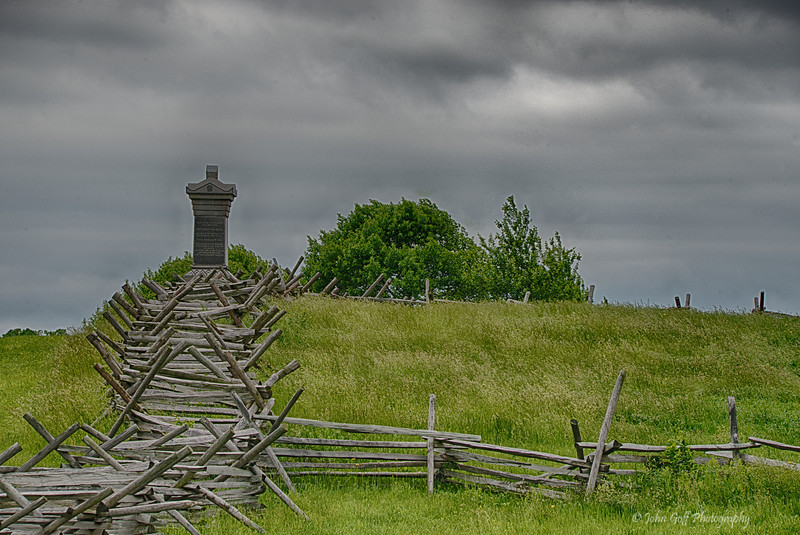 Follow The Fence<br /> Gettysburg National Military Park