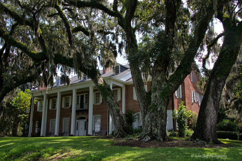 Main House<br /> Hobcaw Barony Plantation<br /> Georgetown, South Carolina