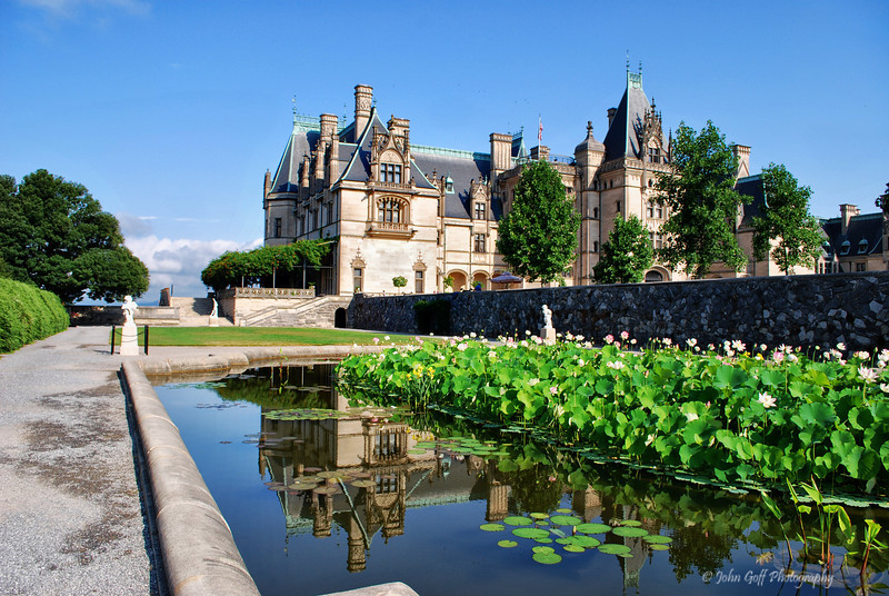Estate Reflection<br /> Biltmore Estate<br /> Asheville, North Carolina