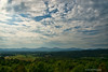 View From Monticello<br /> Plantation of Thomas Jefferson<br /> Charlottesville, Virginia