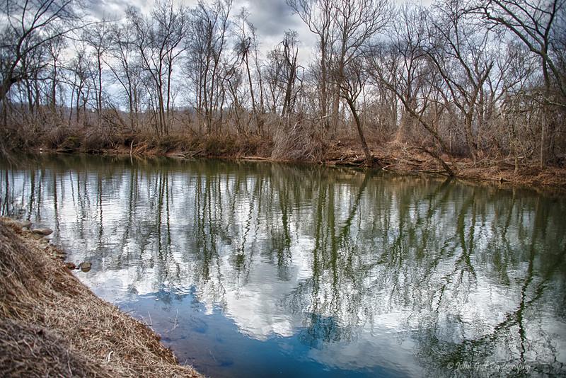 Blue & Green Water<br /> Conowingo Dam , <br /> Darlington,  Maryland