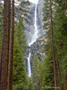 Water Falls<br /> Yosemite National Park <br /> California