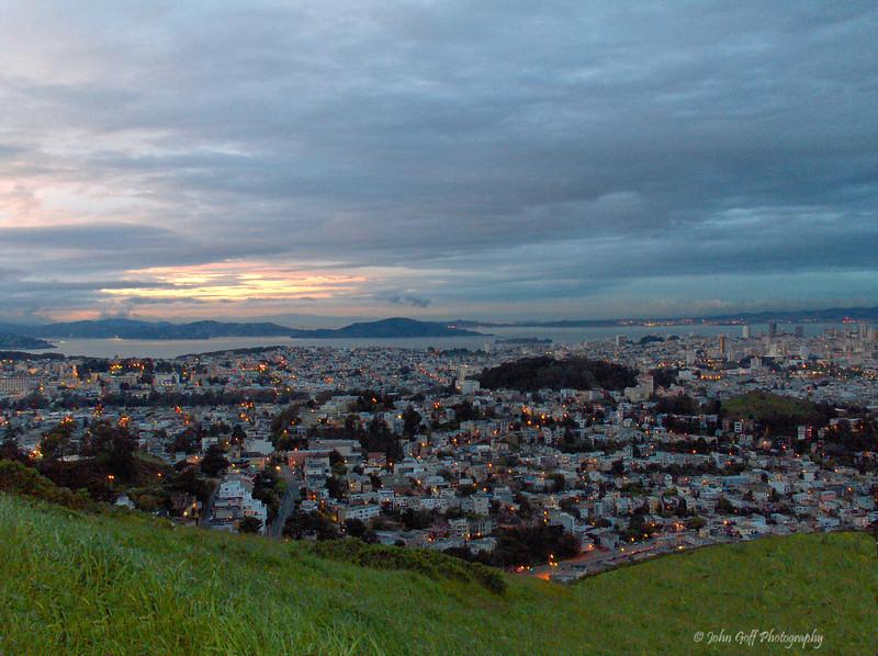 Dusk Over San Francisco<br /> San Francisco, Calfiornia