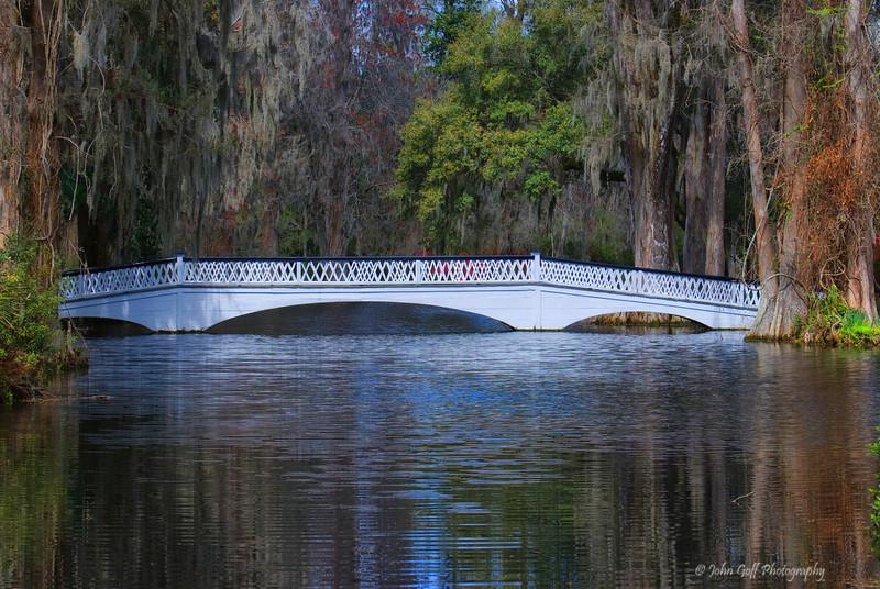A Bridge<br /> Magnolia Plantation<br /> Charleston, South Carolina