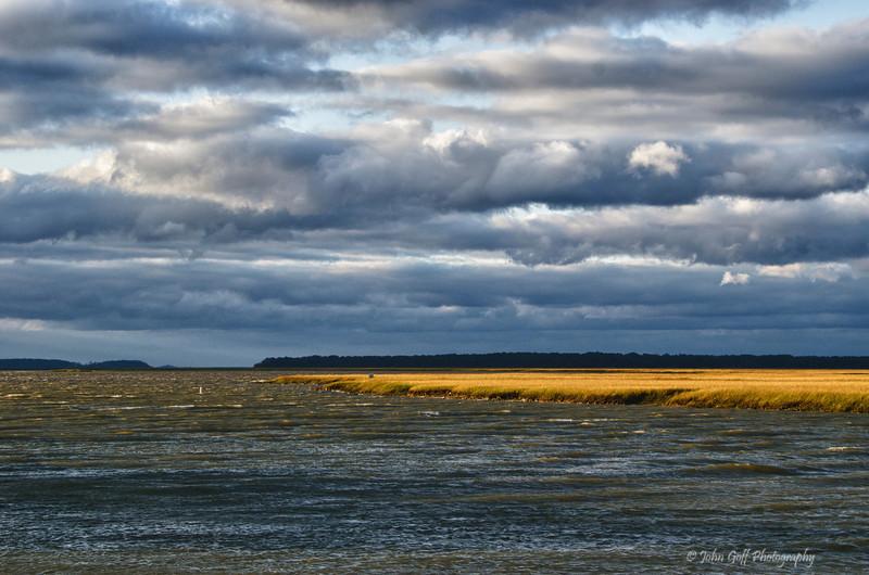 Water Front<br /> Edisto Island,  South Carolina.