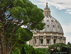 Basilica Dome<br /> St Peter's Basilica <br /> Rome, Italy