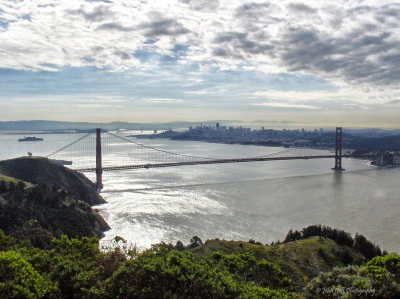 Golden Gate Bridge<br /> San Francisco, California