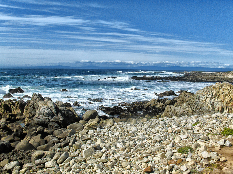 Rocky Shore<br /> California Shore Line