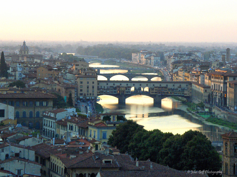 Overlook<br /> Tiber River<br /> Rome Italy