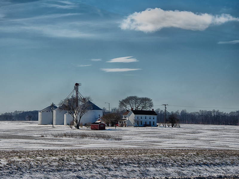 Farm House<br /> Eastern Shore After Snow Storm